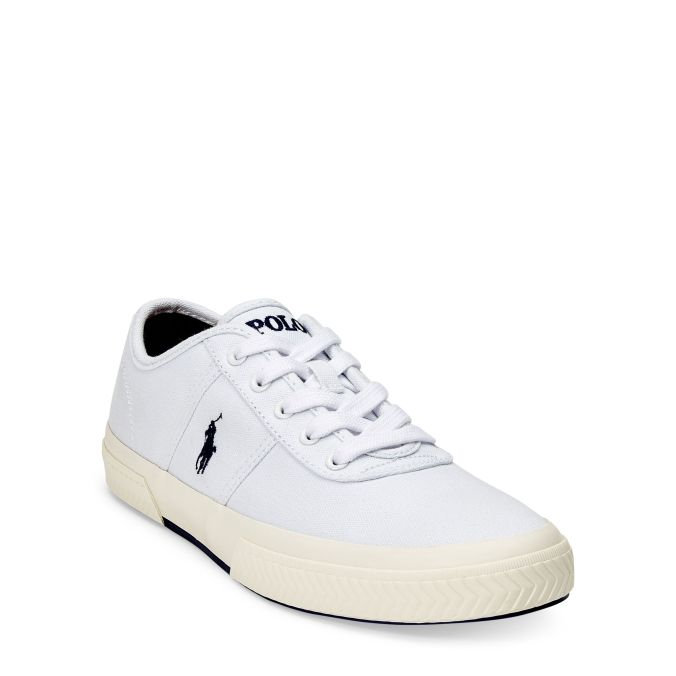 Polo Ralph Lauren- Tyrian Canvas Low-top