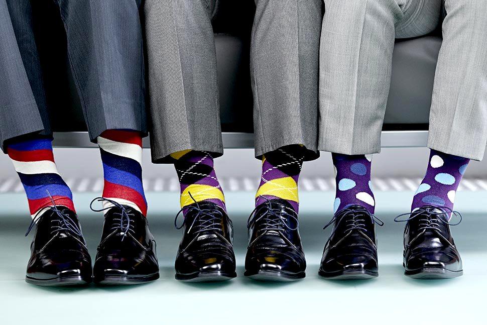 These socks areshocking