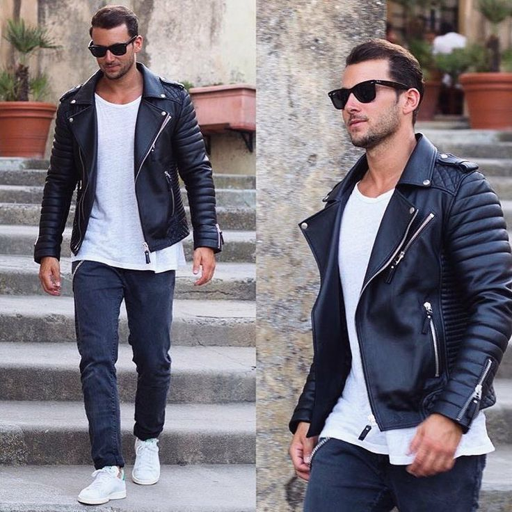 19674e9fd24e41f71f61dc8e5b36d1b1--black-leather-biker-jacket-leather-jeans