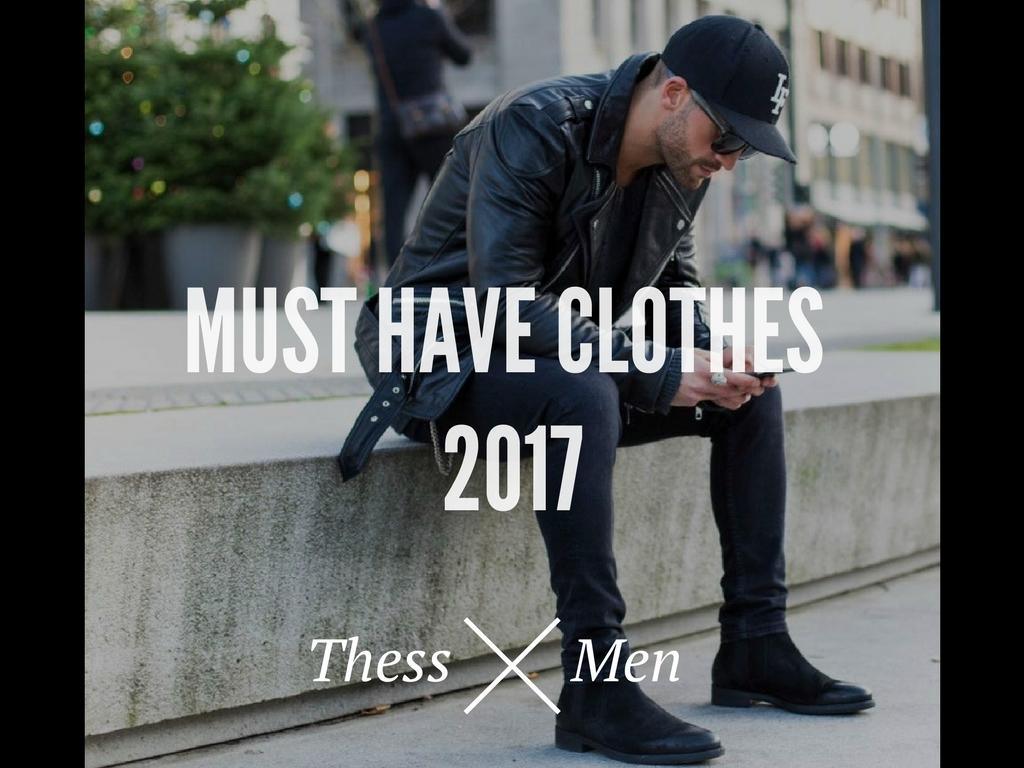 Τα must-have ρούχα για το 2017! [Part1]