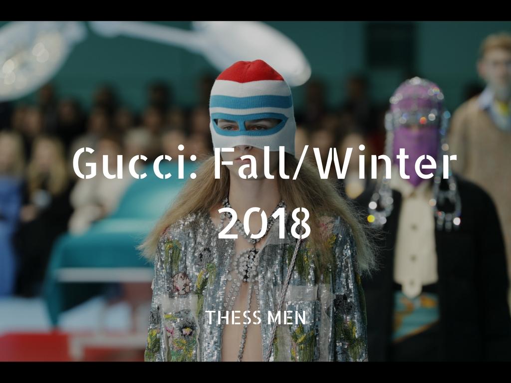 Επίδειξη Ανδρικής Μόδας από τηνGucci.
