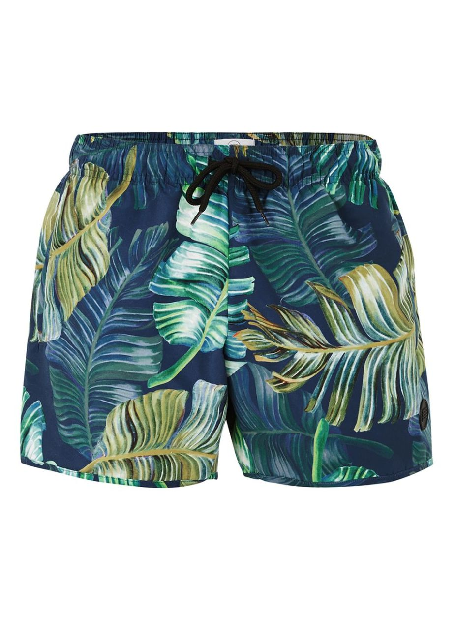 TopMan - Blue & Green Forest Swim Short - 18€