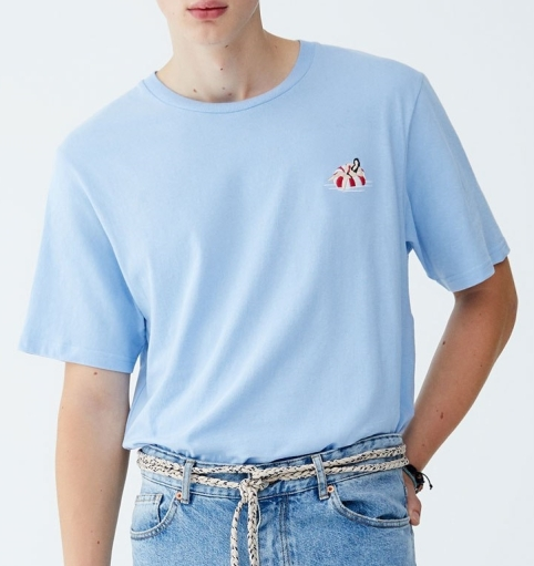 Pull&Bear - T-shirt cotton
