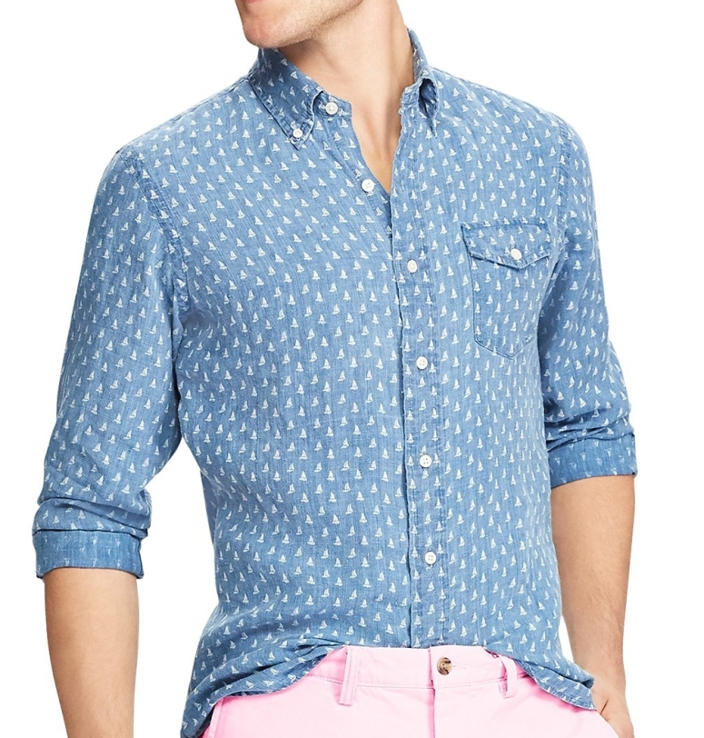 Ralph Lauren - Classic Fit Sailboat Shirt